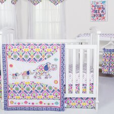 Santa Maria Waverly Baby 5 Piece Crib Bedding Set