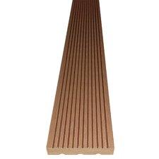 14 cm x 220 cm Terrassendiele aus Bambus und Kunststoff