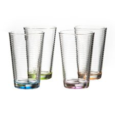 Nelson Colored 14 oz. Highball Glass (Set of 4)