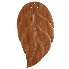 "21.75"" Wood Ceiling Fan Blade Set (Set of 5)"