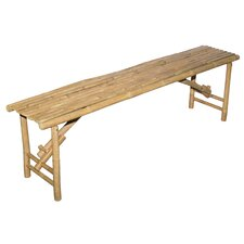 Wood Folding Dining Bench by Bamboo54