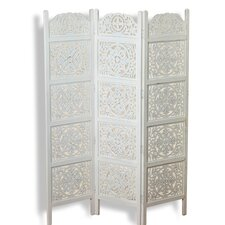 "72"" x 59.1"" Heritage Home Farmhouse 3 Panel Room Divider"