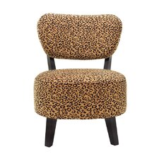Ansel Rounded Seat Slipper Chair