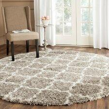 lucina shag gray ivory area rug