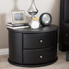 Kleio 2 Drawer Nightstand by Latitude Run