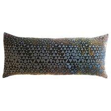 Triangles Velvet Boudoir Pillow