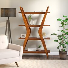 Thoroughly Modern 66 Accent Shelves Bookcase by Corrigan Studio®