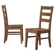Cannes Solid Wood Dining Chair (Set of 2)