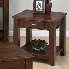 Linden End Table by Loon Peak