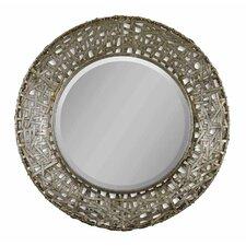 Mollie Round Metal Mirror