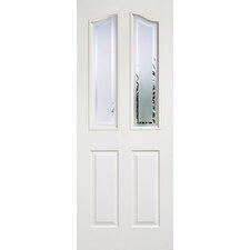Mayfair MDF 2 Panel Glazed Internal Door
