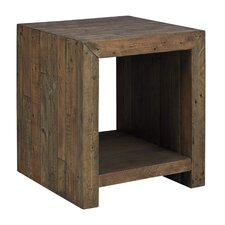 Devanna Rectangular End Table by World Menagerie