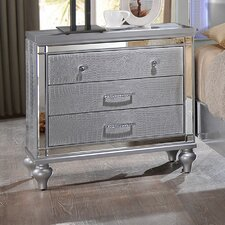 Finchley 3 Drawer Nightstand by House of Hampton