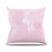 Welcome to my World by Catherine Holcombe Outdoor Throw Pillow by East Urban Home