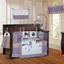Owl 10 Piece Crib Bedding Set by Babyfad