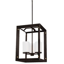 Chatauqua 3-Light Foyer Pendant