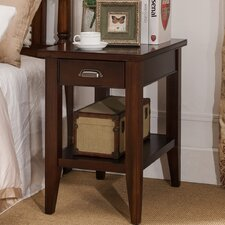 Laurent Lamp End Table by Leick Furniture