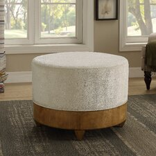 Hornice Round Ottoman by World Menagerie