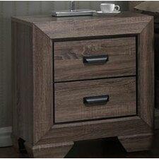 Hankinson 2 Drawer Nightstand by Laurel Foundry Modern Farmhouse