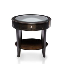 Backwoods End Table by Alcott Hill