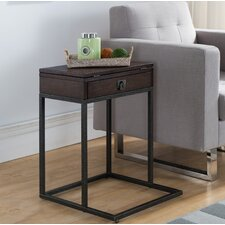 Hammonds End Table by Alcott Hill
