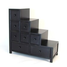 Rushmore Reversible 8 Drawer Step Chest by World Menagerie