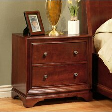 Basche 2 Drawer Nightstand by Darby Home Co