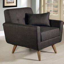 Vollmer Tufted Fabric Armchair by Brayden Studio