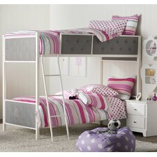 Sistine Rose Twin Bunk Bed by Viv + Rae