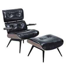 Eama Lounge Chair with Ottoman