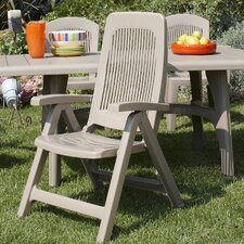 Elegant 5 Position Outdoor Folding Dining Chair
