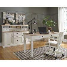 Greyson 4 Piece Desk Office Suite Set