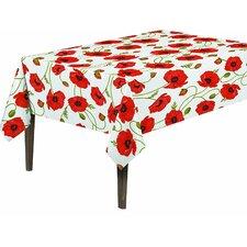 Essential Poppy Flower Design Indoor/Outdoor Tablecloth