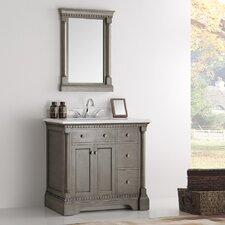 Kingston 36 Single Bathroom Vanity Set with Mirror by Fresca