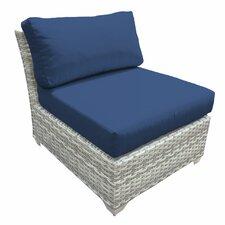 Fairmont Armless Chair with Cushions