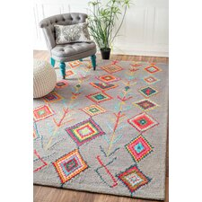 Dayne Hand-Tufted Gray Area Rug