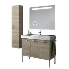 Cubical 41 Single Bathroom Vanity Set with Mirror by ACF Bathroom Vanities
