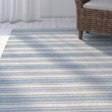 Wexford Marbella Blue/Sand Indoor/Outdoor Area Rug