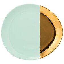"""2 Tone Oval 10.75"""" Dinner Plate (Set of 4)"""