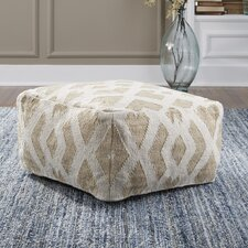 Brisa Pouf Ottoman by Beachcrest Home