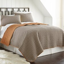 Jan 3 Piece Reversible Coverlet Set