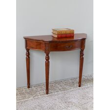 Abramson Hand Carved Console Table by Astoria Grand