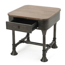 Kensington Wood End Table by Williston Forge