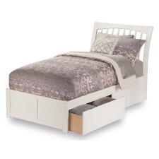 Homer Storage Platform Bed by Alcott Hill