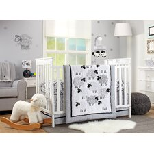 Good Night Sheep 4 Piece Crib Bedding Set