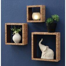 Decorative 3 Piece Accent Shelf Set by Organize It All