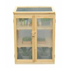 0.55m W x 0.4m D Mini Greenhouse
