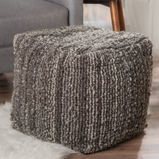 Fieldsboro Pouf Ottoman by Beachcrest Home