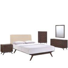 Modesto Platform 5 Piece Bedroom Set