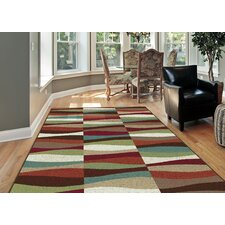Shop For Berwick 3 Piece Red/Brown Area Rug Set